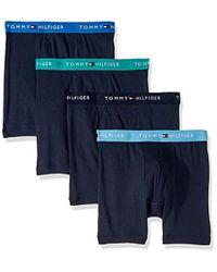 114d0294dfdf Tommy Hilfiger Modern Essentials Boxer Brief in White for Men - Lyst