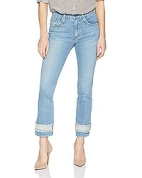 James Jeans - Sneaker Straight High Rise Ankle Length Jean In Revival - Lyst