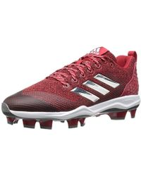 f22d8afea845 adidas - Freak X Carbon Mid Baseball Shoe, Power Red, Silver Met, Ftwr