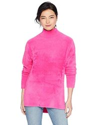French Connection - Fuzzy Long Sleeve Pullover Knit Sweater - Lyst