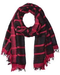 Armani Jeans - Plaid Woven Scarf - Lyst