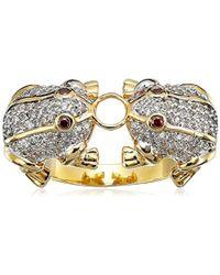 Noir Jewelry - Dos Ranas Ring - Lyst