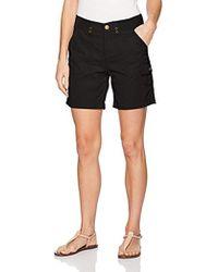 474d8762e63 Lyst - Jessica Simpson Plus Size Myra Gaucho Pants in Black