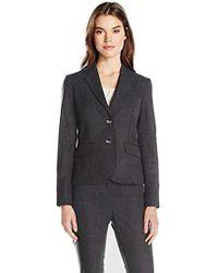 Jones New York - Washable Suiting Short 2 Btn Jacket - Lyst