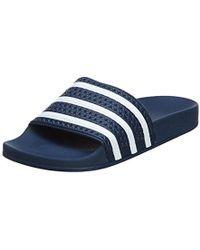 f568135de8dba Lyst - adidas Originals Adidas Adilette Slide Sandal in Blue for Men