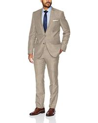 Kenneth Cole - Slim Fit 2 Button Wool Stretch Suit - Lyst