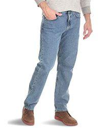 3612593b Wrangler Authentics Classic Carpenter Jean in Blue for Men - Save 68% - Lyst