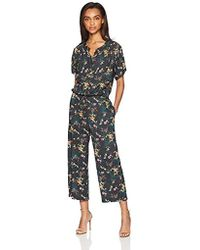 Velvet By Graham & Spencer - Joyce Floral Printed Chlaais Jumpsuit - Lyst