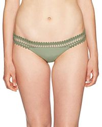 db76ca453d6a4 Lyst - Rip Curl Designer Surf Mesh Hipster Bikini Bottom in Gray