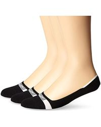 Sperry Top-Sider - Solid Signature Liner 3 Pack, Wine Assorted, Sock Size:10-13/shoe Size: 6-12 - Lyst
