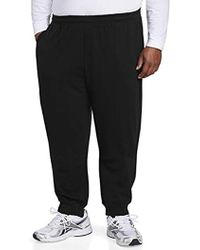 Amazon Essentials - Big & Tall Closed Bottom Fleece Pant Fit By Dxl - Lyst