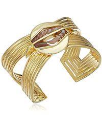 Noir Jewelry - Lost Moments Cuff Bracelet - Lyst