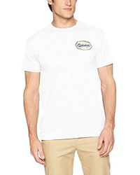 Quiksilver - Live On The Edge Tee Shirt - Lyst