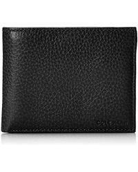 Cole Haan - Pebble Leather Bifold Wallet With Passcase - Lyst