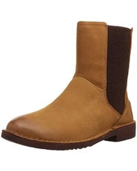 f65153b6b84 UGG Cedric Water Resistant Genuine Shearling Lined Boot in Brown - Lyst