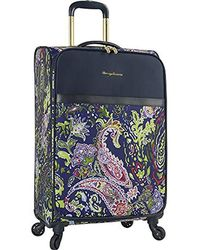 """Tommy Bahama - 28"""" Expandable Spinner Luggage, Blue Paisley - Lyst"""