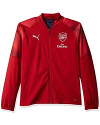 fdea53cadf8e PUMA - Arsenal Fc Stadium Jacket Sponsor Logo - Lyst