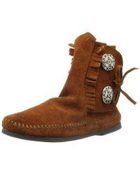Minnetonka - Two Button Boot - Lyst