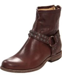 Frye - Phillip Studded Harness - Lyst