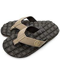 Volcom - Recliner Sandals - Lyst