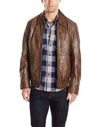 Marc New York - Hanover Lightweight Open Bottom Shirt Collar With Chest Zipper Detail - Lyst