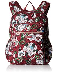 Vera Bradley - Iconic Campus Backpack, Signature Cotton - Lyst