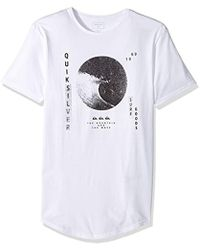 Quiksilver - Short Sleeve Scallop East Wavy Dots Tee - Lyst