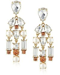 Kate Spade - Twinkling Fete Chandelier Drop Earrings - Lyst