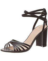 a595d0f0 Guess - Madesta (Sandal)/Leath, Zapatos con Tacon y Correa de Tobillo