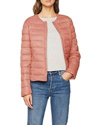 Vero Moda - Vmsiv Soraya Button Short Jacket Boos - Lyst