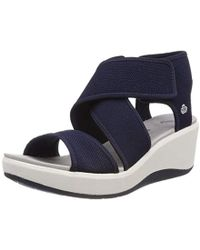 Clarks - Step Cali Palm Low-top Trainers - Lyst