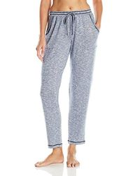Kensie - Long Light Sweater Knit Lounge Pant - Lyst