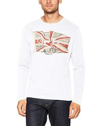 Pepe Jeans - Long Sleeve Top - Lyst