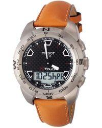 Tissot - T0134204620100 T-touch Watch - Lyst