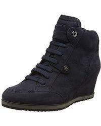 Geox - D Illusion A Hi-top Trainers - Lyst