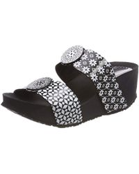 Desigual - 's Shoes_cycle Alhambra Flatform Sandals - Lyst