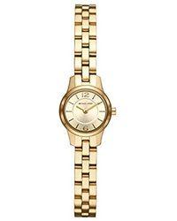 Michael Kors - Damen Analog Quarz Uhr mit Edelstahl Armband MK6592 - Lyst