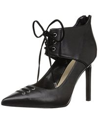 Nine West - Testy Leather Heeled Sandal - Lyst