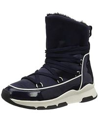 376a4d2c053a9 Tommy Hilfiger  s Cool Technical Satin Winter Boot Snow in Black ...
