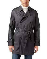Kenneth Cole - Ridge 37-inch Double-breasted Belted Trench Coat - Lyst