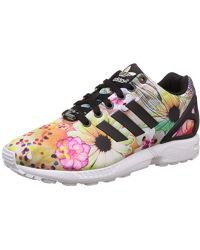 983129476500 adidas  s Zx Flux Smooth Running Shoes - Lyst