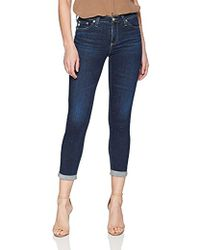 AG Jeans - Prima Cigarette Roll Up Jean - Lyst