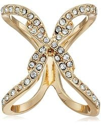 Guess - Open Frame Ring - Lyst