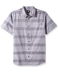 O'neill Sportswear Button Down Shirt - Gray