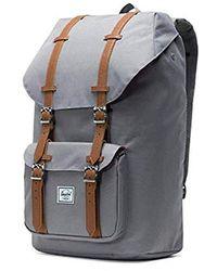 Lyst - Herschel Supply Co. Little America Backpack in Gray for Men 277a659f3c0cf