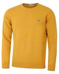 Lacoste Suéter para Hombre - Amarillo