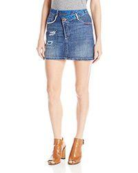 Desigual - Denim Skirt Mini - Lyst