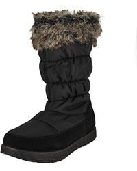 Skechers - Adorbs-nylon Quilted Snow Boot - Lyst