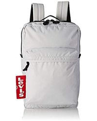 Levi's - The ® L Pack Big Tab, 's Shoulder Bag, White (noir Regular White), 12x29x45 Cm (w X H L) - Lyst