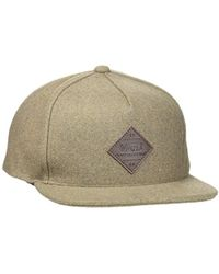 0e0be2821cb Vans X Peanuts Snapback (charlie Brown) in Yellow for Men - Lyst